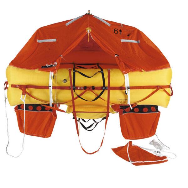 Zodiac Open Sea ISO 9650 4 Person Life Raft Valise Bag