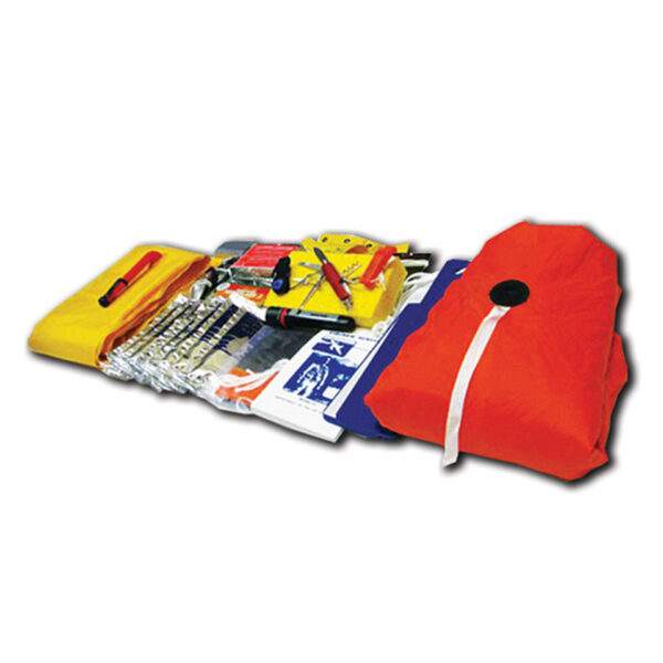 Revere Survival Aero Compact 4 w/ canopy u0026 deluxe kit  sc 1 st  Inflatables International Life Raft Aviation and Marine Safety & Revere Survival Aero Compact 4 w/ canopy u0026 deluxe kit ...