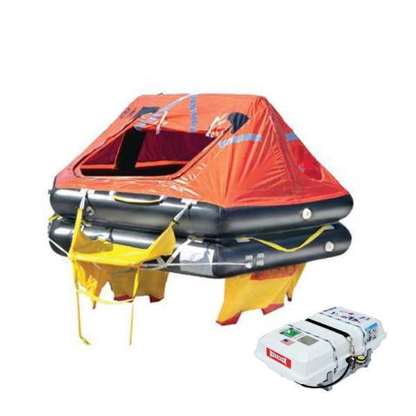 Elliot SOLAS A Life Raft 4 Person LPC