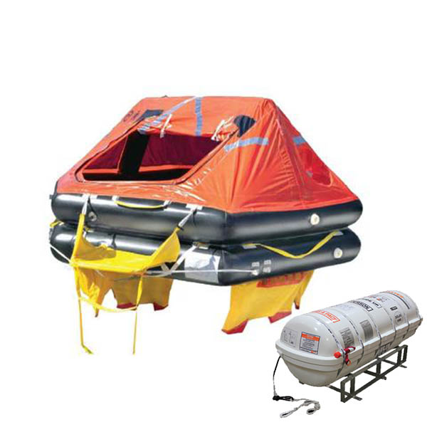 Elliot SOLAS A RD Barrel Container Life Raft 25 Person